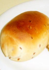 ローストアマ二(粒)のロールパン
