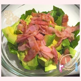 ☆ルッコラとアボカドの簡単サラダ☆