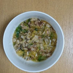 離乳食白菜と豚肉の中華風あんかけ