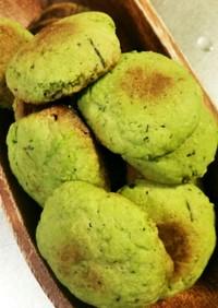 抹茶&緑茶葉クッキー