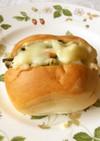 からし菜の玉子マヨトースト