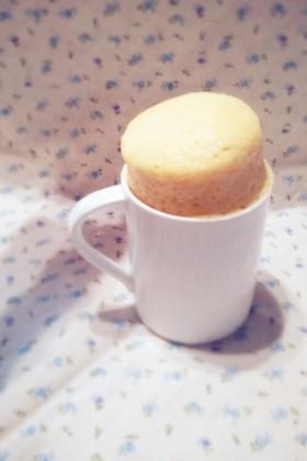 レンジで簡単♡マグカップケーキ