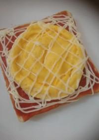【忙しい朝に】オムレツトースト【レンジ】
