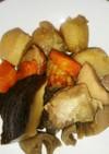 鳥モモ肉と根菜の煮物