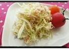 簡単!うまっ♡キャベツとツナのサラダ♡