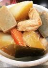 ザク切り野菜と豚ロースのこっくり煮物