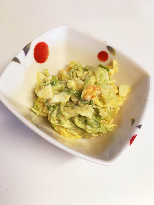 やみつき簡単キャベツサラダ ♡カレー味♡