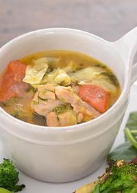 妊娠、授乳に!チキンキャベツスープ