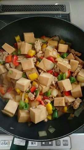 作りおき★高野豆腐のオイスターソース炒め