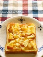 りんごとチーズのハニートースト♪の写真
