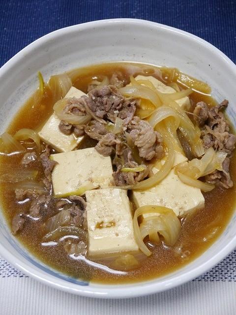 初めてでも簡単♪基本の肉豆腐(つゆだく)