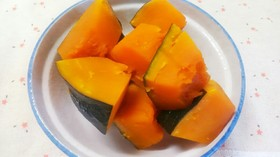 黄金比☆かぼちゃの煮物
