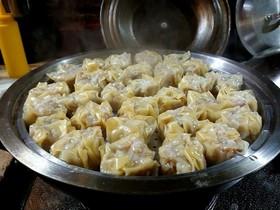 酢生姜醤油で食べる激旨い海老ホタテ焼売