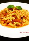 マカロニで簡単イタリアン・・・海鮮パスタ