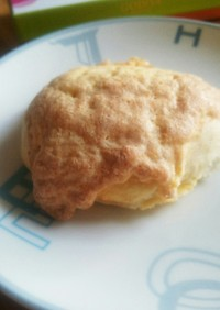バター不要 カロリーオフメロンパン 簡単