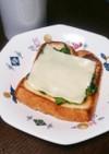 フライパンで!小松菜トースト