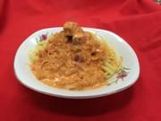 コロコロスモークサーモントマトパスタの写真