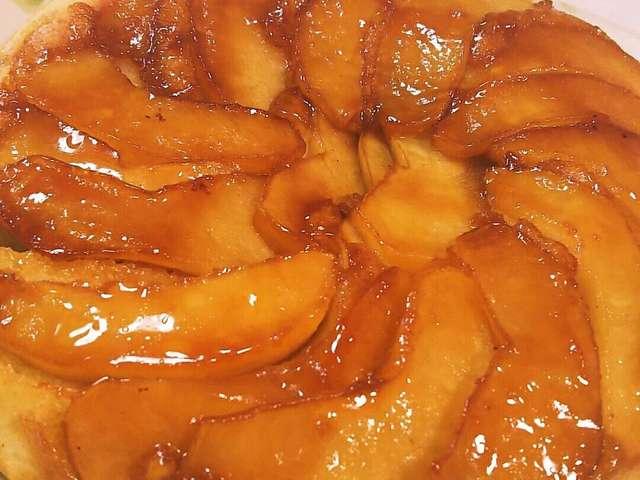 りんごケーキ ホットケーキミックス フライパン