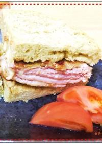 味噌チーズミルフィーユカツ&サンドイッチ