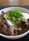 楽チ~ン!レンジで牛丼、温玉のせ~。