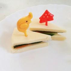 チーズサンドイッチ?!