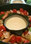 ★ダッチオーブンで簡単チーズフォンデュ