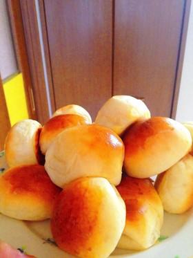 HBで手作り☆フワフワ丸パン