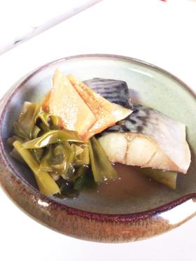 レンジで速攻 酢生姜で鯖の酒蒸し