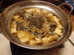 簡単! つるしゃきもずくのヒガシマル豆腐