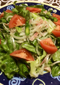 たっぷり野菜のやみつきになるサラダ