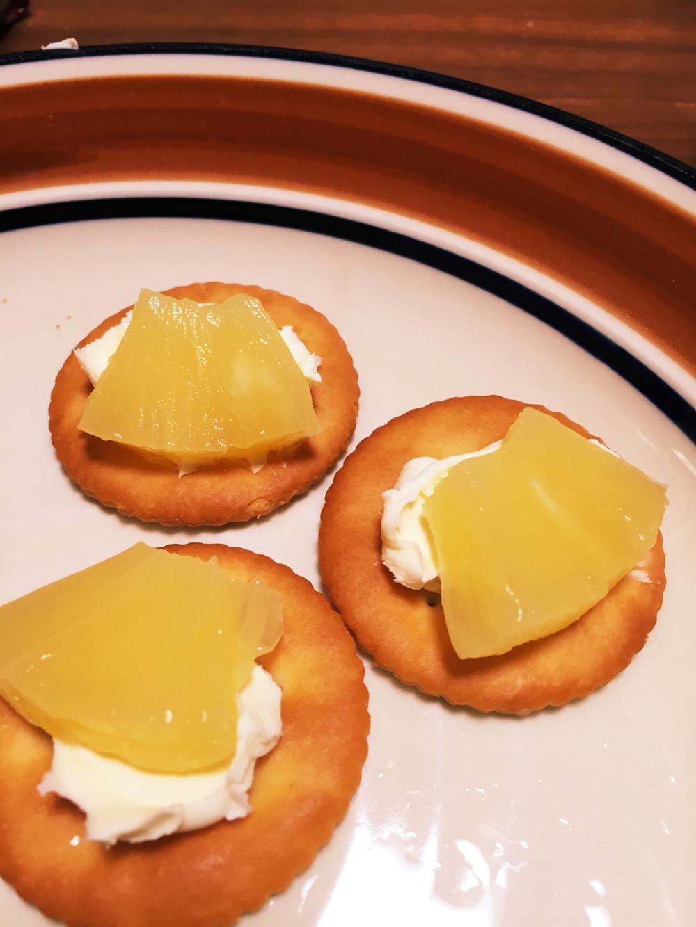 リッツパーティ☆パイン&クリームチーズ☆/クックパッド