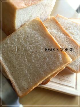 自家製酵母でミルク食パン