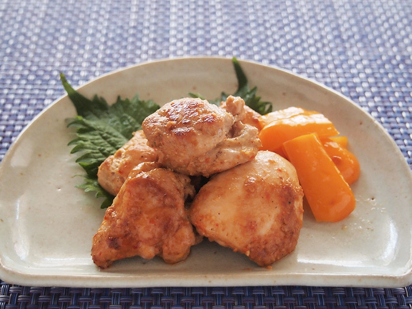 簡単お弁当ストック!鶏の韓国風ピリ辛焼