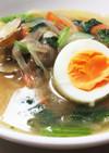 あさりと野菜煮込中華そば風★スープパスタ
