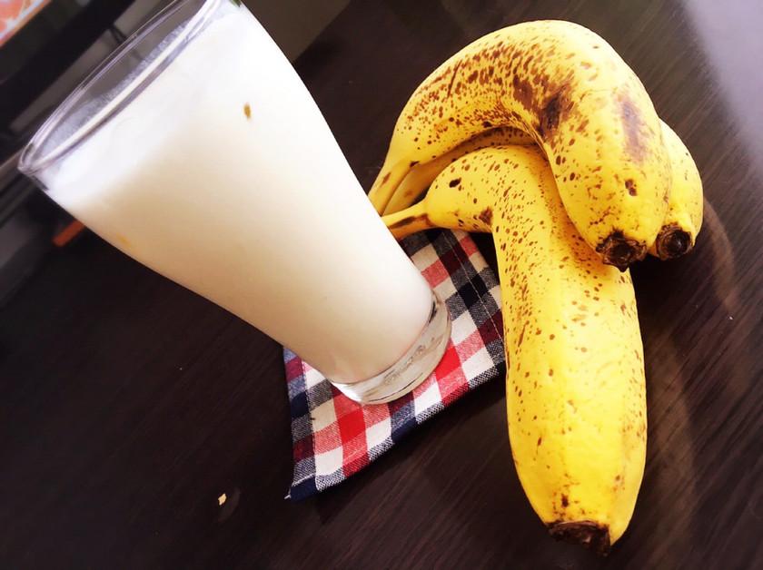 濃厚♡喫茶店のバナナジュース