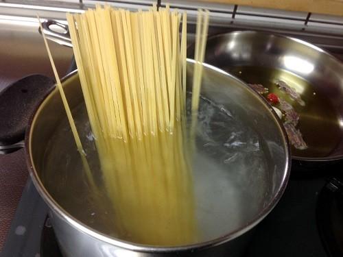 基本!本場イタリアのスパゲッティの茹で方