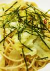春キャベツとツナスパゲティ