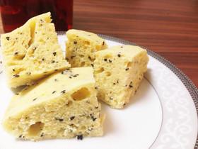 黒ごまマヌカハニー*ヨーグルト蒸しパン