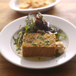 地魚とアルベッキーナオリーブのパテ