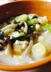 ダイエットレシピ★豆腐の具沢山豆乳スープ