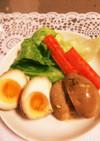 ♡超簡単☆焼きそばソースで味付け卵♡