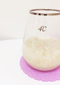 砂糖不使用♡米麹と炊飯器だけで手作り甘酒