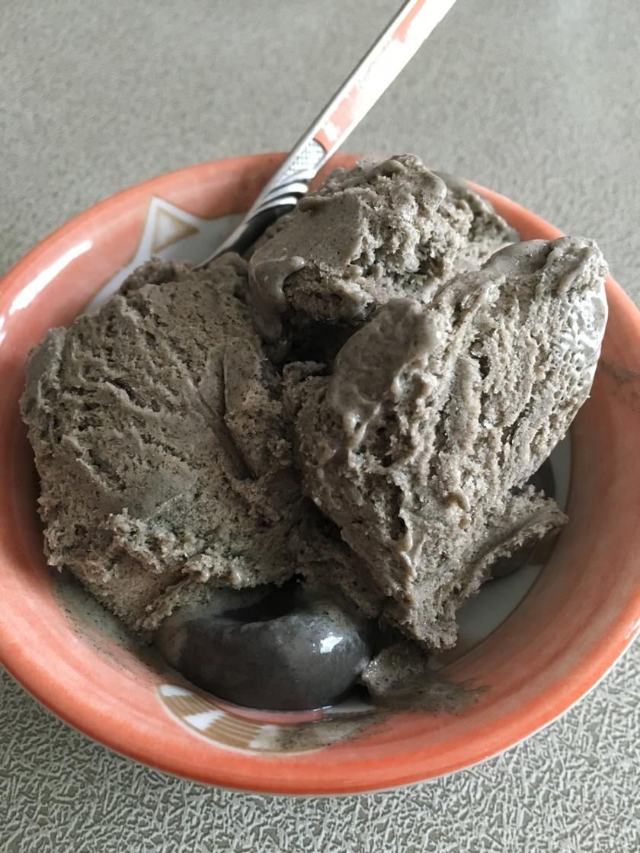 黒ごまのアイス