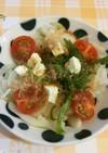 ポン酢とオリーブオイルで新玉ねぎのサラダ