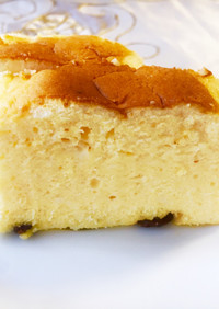簡単♪りくろーおじさんのチーズケーキ