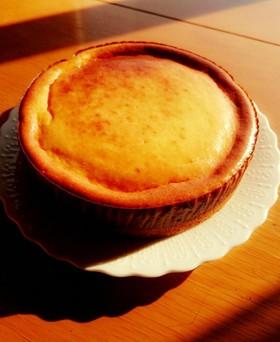生クリームなしで濃厚ベイクドチーズケーキ