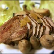 煮豚で焼豚ふう♡簡単の写真