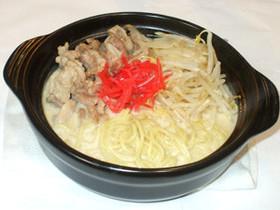 豚骨ラーメン豚バラ肉で豚骨風豆腐ラーメン