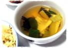 筍わかめ青梗菜で簡単♪すまし汁