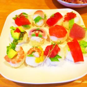 雛祭りのてまり寿司